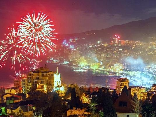 Крым в Новогодние праздники